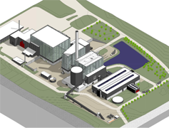 Biomassefyr. Kraftvarmeværk, Lisbjerg