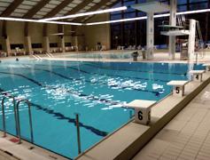 Svømmebassiner i Humlehøjhallerne