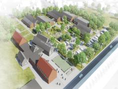Kulturhus og 36 handicapboliger i Silkeborg
