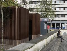 Toiletbygninger på Bispetorvet, Aarhus